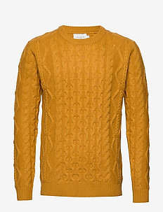 Pigalle Cable Knit - YELLOW SUNFLOWER