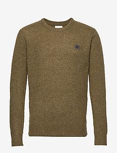 Piece Brushed Knit - 5858-DARK OLIVE GREEN