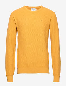 Henri Structure Knit - GOLDEN SPICE YELLOW