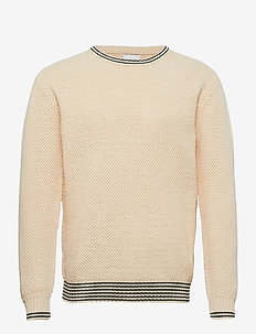 Franklin Pineapple Knit - tricots basiques - off white