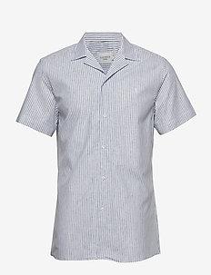 Simon Shirt - WHITE/NAVY