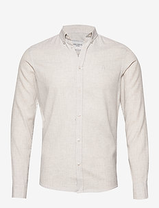 Desert Shirt - basic-hemden - 2323-snow melange