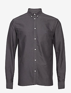 Christoph Oxford Shirt - basic skjorter - black/charcoal