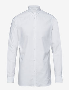 Christoph Oxford Shirt - WHITE