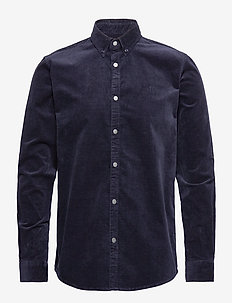 Felix Corduroy Shirt - 4646-DARK NAVY
