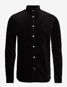 Felix Corduroy Shirt - BLACK