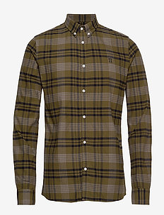 Valence Shirt - DARK OLIVE GREEN