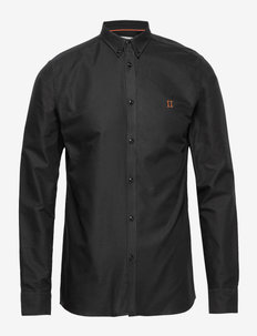 Oliver Oxford Shirt - 0101-BLACK