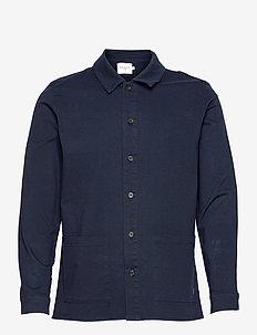 Pascal Overshirt - tøj - dark navy