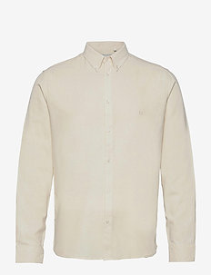 Koda Silk Shirt - basic overhemden - off white