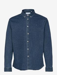 Bill Denim Shirt - basic overhemden - light denim blue