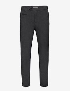 Malus Suit Pants - anzugshosen - charcoal melange
