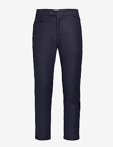 Como Wool Pants - DARK NAVY