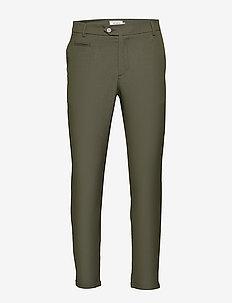 Como LIGHT Suit Pants - anzugshosen - dark green
