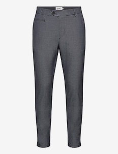 Como LIGHT Suit Pants - formele broeken - dark navy/snow melange