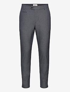 Como LIGHT Suit Pants - suit trousers - dark navy/snow melange