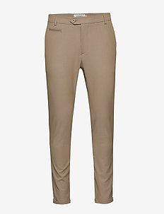 Como LIGHT Suit Pants - anzugshosen - light brown insence