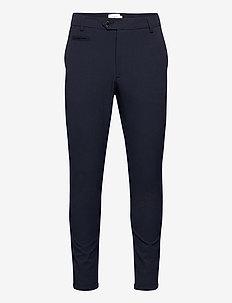 Como LIGHT Suit Pants - pantalons habillés - navy