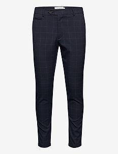Como Check Suit Pants - od garnituru - dark navy/light grey melange