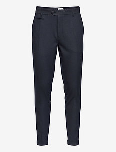 UPC Como Melange Suit Pants - suit trousers - dark navy