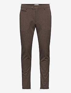Como Suit Pants - Seasonal - anzugshosen - brown melange