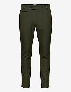 Como Suit Pants - Seasonal - dressbukser - deep forrest
