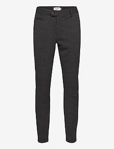 Como Melange Suit Pants - pantalons habillés - charcoal melange