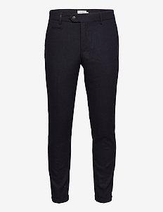 Como Wool Suit Pants - pantalons habillés - dark navy