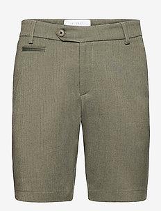Malus Shorts - chinos shorts - lichen green/duffel bag green