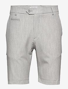 Como LIGHT Shorts - chinos shorts - snow melange