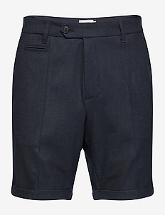 Como Melange Shorts - tailored shorts - dark navy