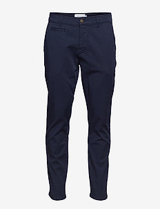Orta Chino Pants - chino's - dark navy