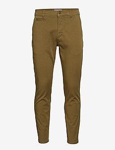 Orta Chino Pants - chinos - dark olive green
