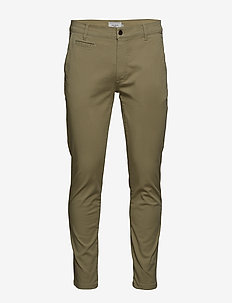 Orta Chino Pants - TEA GREEN
