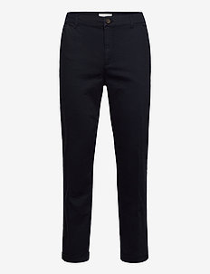 Pascal Elastic Waist Pants - chinos - dark navy