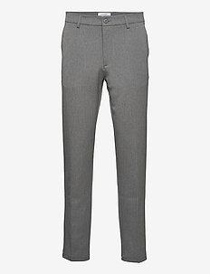 Como Reg Suit Pants - od garnituru - grey melange