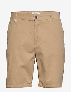 Felix Corduroy Light Shorts - chinot - light brown melange