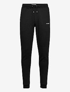 Lens Sweatpants - joggingbroek - black/white