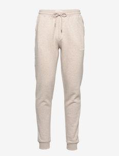 Nouveau Lens Sweatpants - spodnie dresowe - light sand melange/ivory