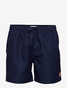 Piece Swimshorts - swim shorts - dark navy/papaya