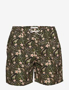Latif Swimshorts - shorts - dark green