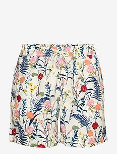Fleur D'été Swim Shorts - badebukser - off white/dark papaya flower pattern