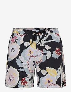 Quinn AOP Fiori Swim Shorts - swim shorts - black/multicolor