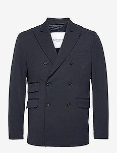 Marvin Light Doublebreasted Blazer - blazers croisés - dark navy