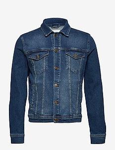 Frederique Denim Jacket - BLUE JEANS