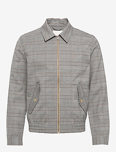 Marlon Herrington Jacket - LIGHT BROWN INSENCE CHECK