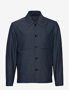 Marseille Herringbone Jacket - DARK NAVY