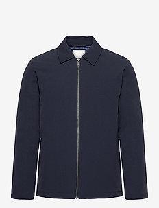 Antoine Nylon Jacket - light jackets - dark navy