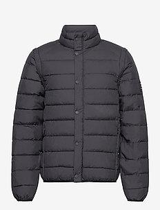 Vermont Jacket - ECOALF X LES DEUX - vestes matelassées - charcoal