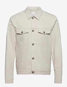 Nolan Twill Jacket - spijkerjassen - ivory